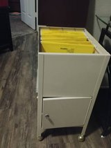 Vintage rolling file cabinet with storage underneath in Luke AFB, Arizona