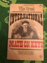 Book: The Great International Math on Keys by M. Dean LaMont and Oliva in Joliet, Illinois