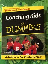 Coaching Kids For Dummies Wolff, Rick Paperback Used - Very Good in Joliet, Illinois