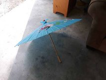 Kids wood umbrella in CyFair, Texas