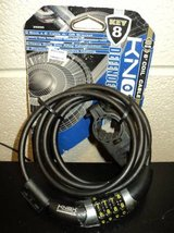 Knox Defender Cable 8mm x 6 Combination Coil Black (T=41) in Fort Campbell, Kentucky