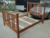Solid Wood Queen/Full Bed in Fort Campbell, Kentucky