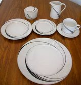 New! 43pc Block Spal China Set - (8) 5Pc Place Settings Creamer/Sugar in Naperville, Illinois