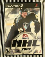 ps2 game NHL 2002 in Bolingbrook, Illinois