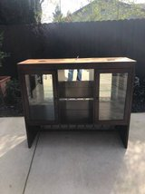 Lighted Solid Wood Hutch in Travis AFB, California