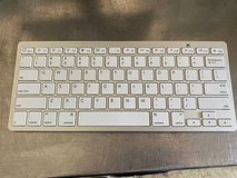 Anker Bluetooth Ultra-Slim Keyboard (White) in Naperville, Illinois