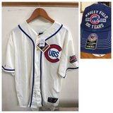 New Chicago Cubs 1937 Throwback Jersey+Cap XL–100years Wrigley field in Joliet, Illinois