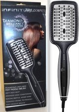 New! InfinitiPRO Diamond-Infused Ceramic Smoothing / Straightening Hot Brush in Bolingbrook, Illinois
