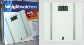 New! WeightWatcher Conair WW706F Digital Glass Body Analysis Scale in Bolingbrook, Illinois
