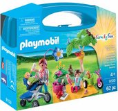 SALE PENDING - New! Playmobil 62 pc Family Picnic w/Carry Case ~9103 in Bolingbrook, Illinois