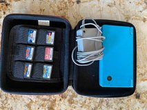 Blue Nintendo DSi + Charger  + 6 Games in Bolingbrook, Illinois