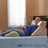 Relax The Back PureFit Adjustable Bed Wedge Pillow System - New! in Naperville, Illinois