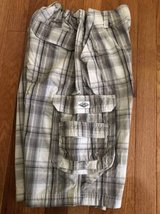 Boys plaid shorts size 16 Lee in Naperville, Illinois