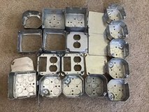 22 Pieces Electrical Boxes and Covers in Naperville, Illinois