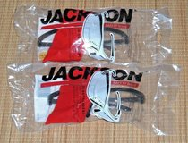 NEW 2 Pc Jackson 30-06 Readers Safety Eyewear 19891 Clear Lens Black Frame +2.50 in Morris, Illinois
