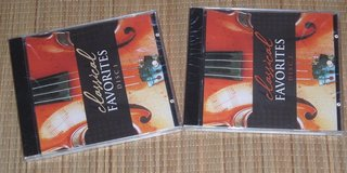 NEW Lot of 2 Classical Favorites CD Set Volumes 1 and 2 Various Artist 30 Tracks in Plainfield, Illinois
