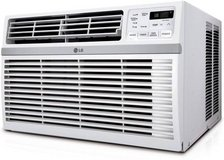 BRAND NEW LG24,500 BTU 230V Window-Mounted AIR Conditioner with Remote in Plainfield, Illinois