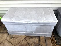 130 Gallon outdoor storage deck box in Plainfield, Illinois