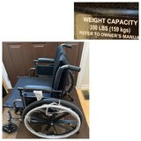 """New Invacare Tracer IV Wheelchair-350lbs capacity/24"""" seat width in Plainfield, Illinois"""