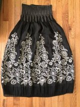 Lapis One Size Gray Brown Floral Rose Convertible Dress Skirt in Bolingbrook, Illinois