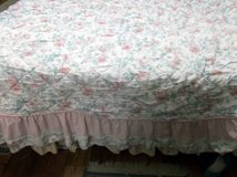 Floral Bedspread Twin or Full. Used. in Navasota, Texas
