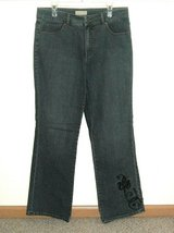 Coldwater Creek Boot Cut Denim Jeans Womens 14 x 32 in Morris, Illinois