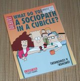 Vintage 2002 Dilbert What Do You Call A Sociopath In A Cubicle Comic Book Soft Cover in Plainfield, Illinois