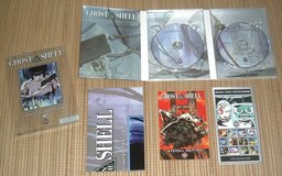 Ghost in the Shell DVD Mamoru Oshii Manga Special Edition 2 Disc Set w Poster in Morris, Illinois