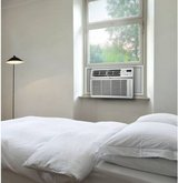 LG 8,000 BTU 115V Window-Mounted Remote Control Air Conditioner, Whit in Joliet, Illinois