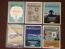 Lot of 6 Robb Report magazines Russian issues in Lockport, Illinois
