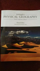 physical geography 3d ca ed courseware and solutions cd for geog 101  (sdccd) in Miramar, California