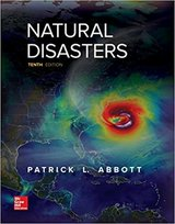 natural disasters 10th edition by patrick leon abbott electronic copy in Miramar, California