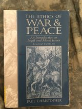 ethics of war & peace homework & solutions manual (cd) for phil 340  (sdsu) in Miramar, California