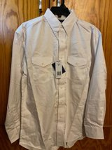 Size medium white Wrangler shirt with tags in Fort Hood, Texas