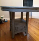 Bar height Distressed Table w/leaf in Beaufort, South Carolina