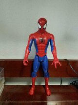 "2017 Hasbro Spiderman Figurine! 12"" tall in Houston, Texas"