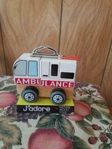 J'Adore Paris Nature Wood Toy Ambulance. in Spring, Texas