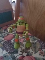 "TMNT Teenage Mutant Ninja Turtles Michaelangelo 6"" Action Figure 2014 Viacom in Kingwood, Texas"
