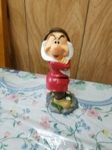 New 2020 Disney Snow White Dwarf Garden / Home Decor Gnome Figurine!  GRUMPY in Bellaire, Texas
