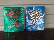 2 Hardcover Books for Kids: Guiness Book of World Records + Ripley's in Batavia, Illinois