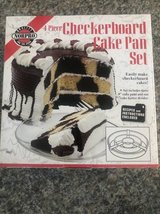 Norpro Checkerboard Cake Pan Set  Model in Naperville, Illinois
