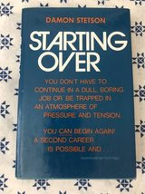 Book- Starting Over by Damon Statson in Lockport, Illinois