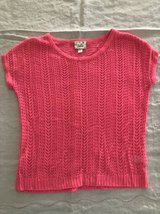 Justice pink girl top size 8 in Naperville, Illinois