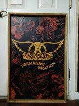 AEROSMITH PERMANENT VACATION WOOD POSTER BOARD in Fairfield, California