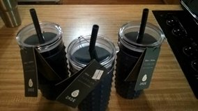 3 NAVY BLUE TUMBLERS (GET ALL 3 FOR $10.) in Quantico, Virginia