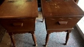 (POSSIBLY ANTIQUES?) (2) END TABLES/ SIDE TABLES in Quantico, Virginia