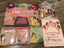 Various Disney Princess books in Chicago, Illinois