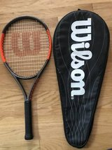 Wilson Burn 25S Junior Tennis Racquet in Joliet, Illinois