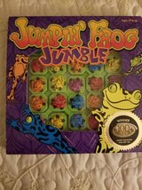 Challenging puzzle game Jumpin Frog Jumble in Camp Pendleton, California