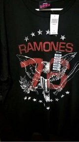 RAMONES 1976 TOUR T-SHIRT (NEW W/TAGS) in Quantico, Virginia